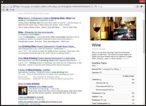 Vyhledávání vína v Hummingbirdu