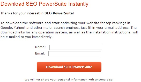Download the OFFICIAL FREE version of SEO PowerSuite
