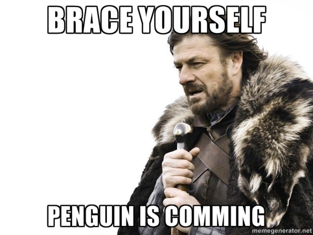 Penguin is comming
