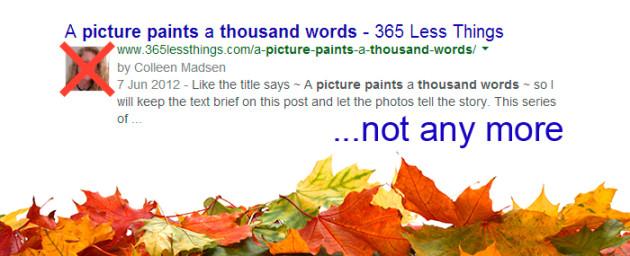 Google odstranil obrázky u authorshipu