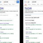 Google zobrazuje v SERPu dynamické interní vyhledávání
