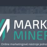 Marketing Miner – další pomocník nejen pro SEO konzultanty