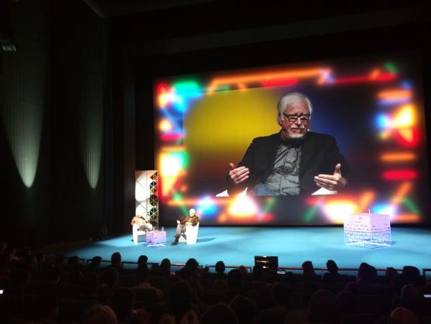 Marty Neumaier odpovídá na otázky publika