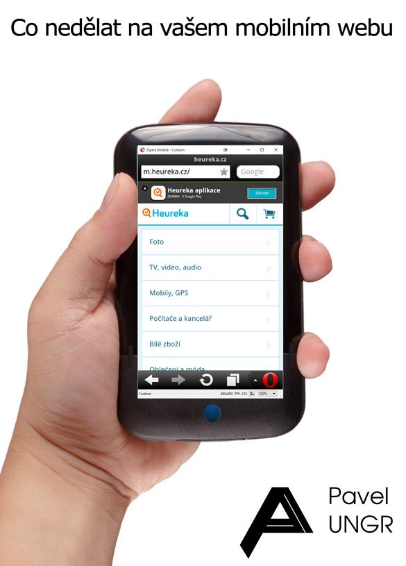 Co nedělat v mobilním SEO