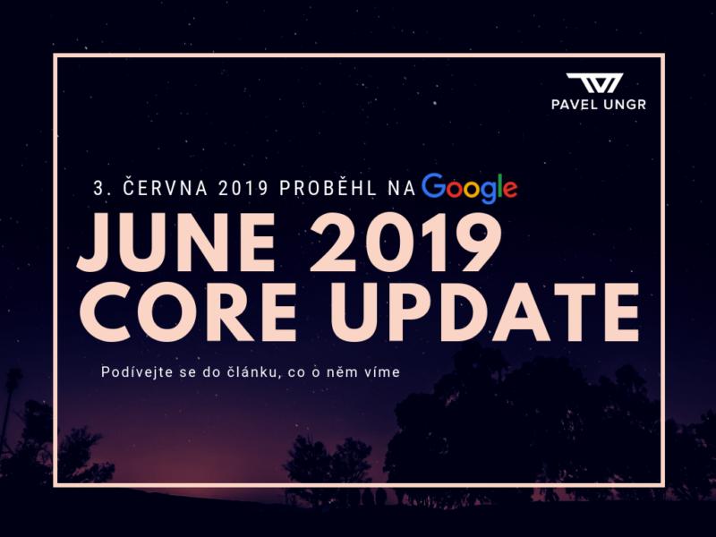 June 2019 Core Update Google